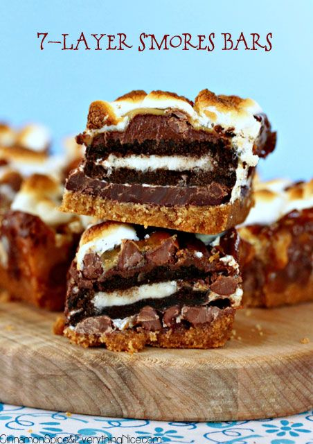 7-Layer S'mores Bars