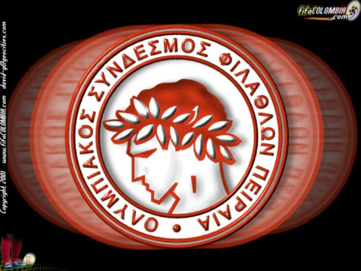 olympiakos logo Colouring Pages