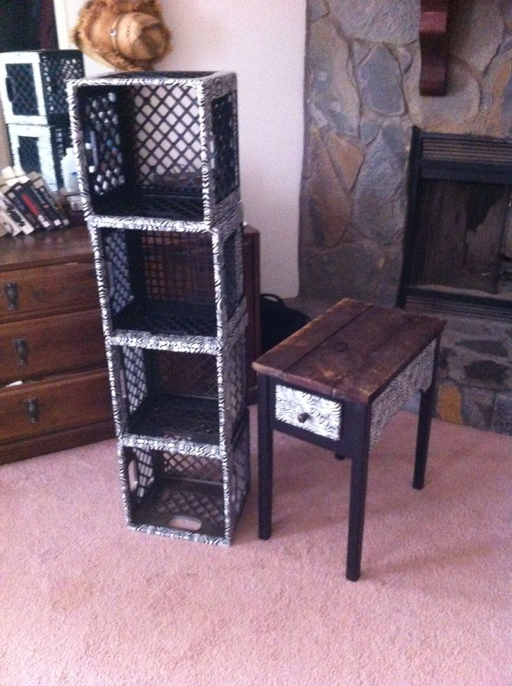 Best 25 plastic milk crates ideas on pinterest milk for What to do with milk crates