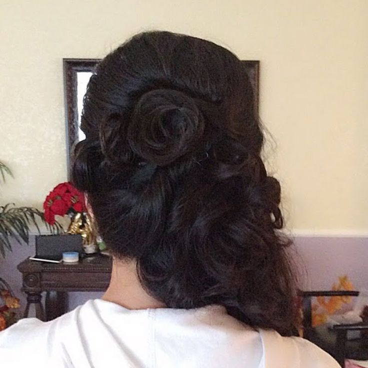 @MarjonelleM's side updo got PUMPED with FULL BODY using her @Bumble BBHIO gifts!
