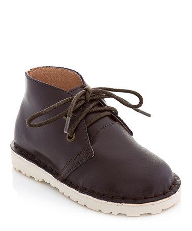 Take a look at this Brown Chukka Boot by COCO Jumbo on #zulily today!