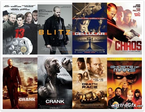 all the movies jason statham played in