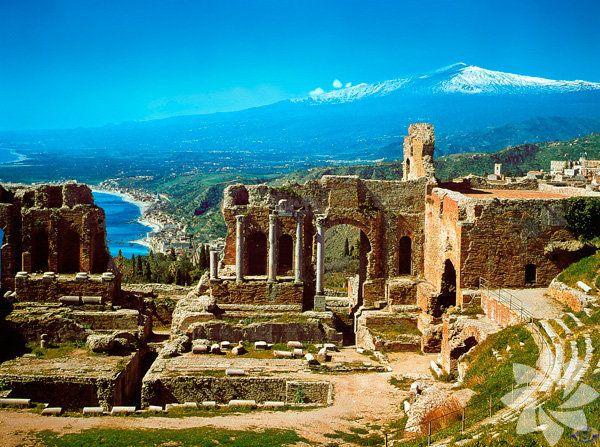 Taormina - Sicilya, İtalya