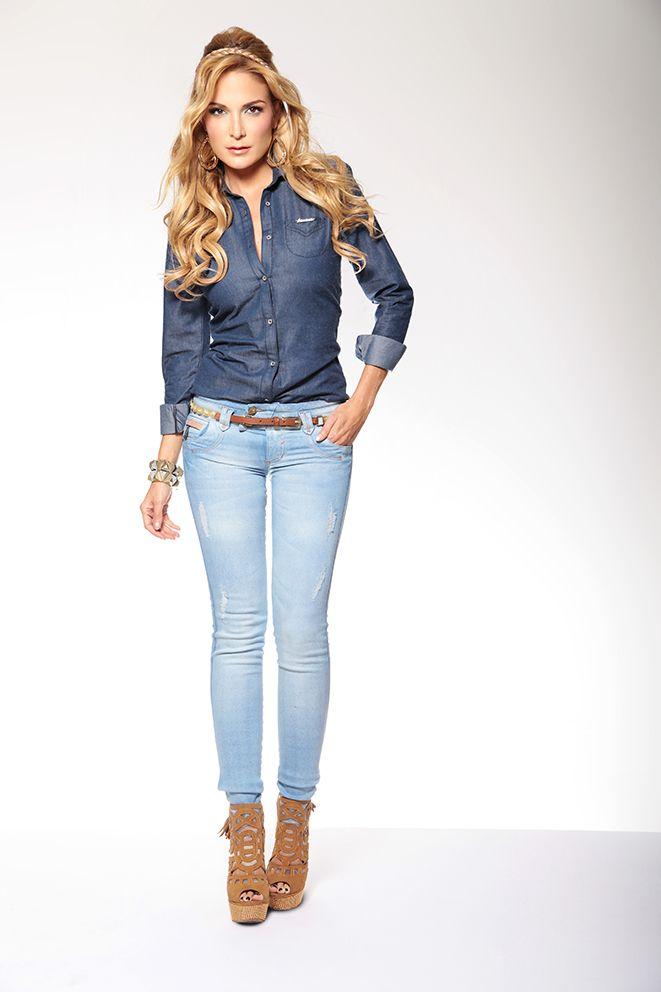 Blusa Hely ABL 035 Pantalon Nable APD 080
