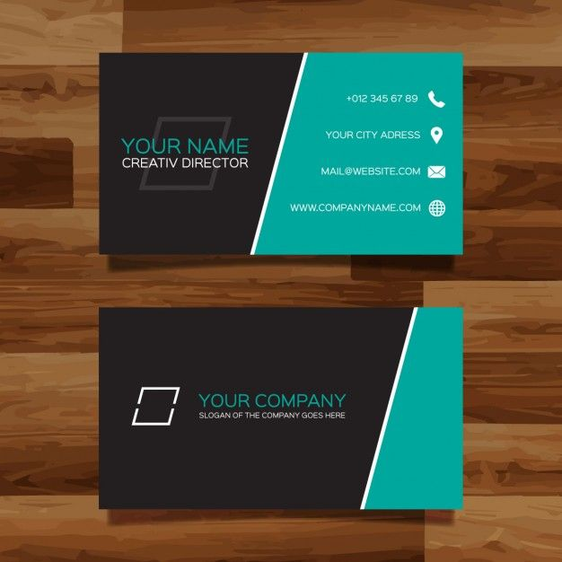 87 best free business card templates images on pinterest free business card vectors photos and psd files reheart Image collections