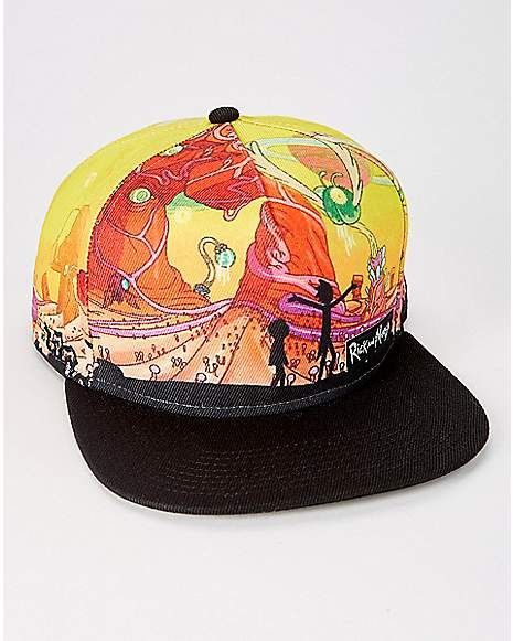 6e1f788db64015 Rick and Morty Snapback Hat - Spencer's | My Style in 2019 ...