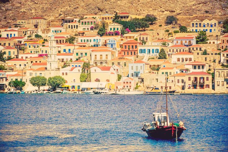 The beautiful little island of Halki lies just a few miles off the west coast of Rhodes. The setting is delightful; pretty houses scattered around in a picturesque harbour side and a backdrop of rugged mountains. Your relaxation villa awaits you, on this unspoiled little paradise.