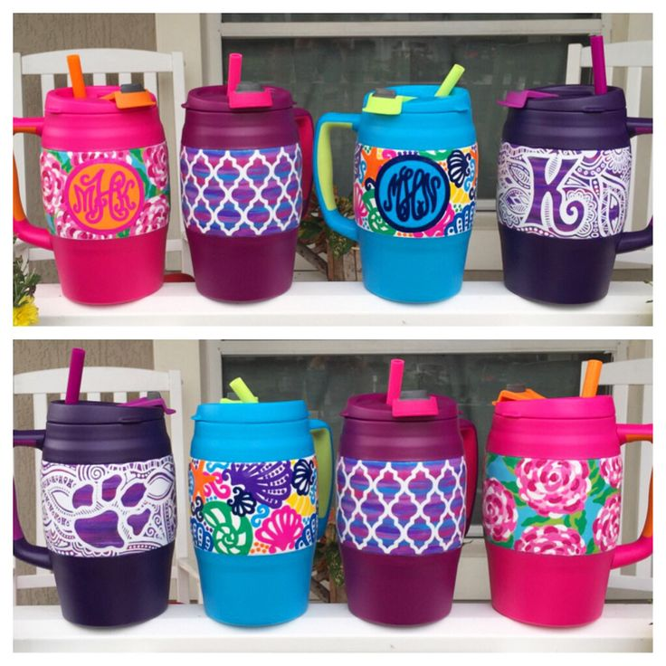 Custom personalized Bubba keg mugs! Check out By The Bells on Etsy and Facebook!