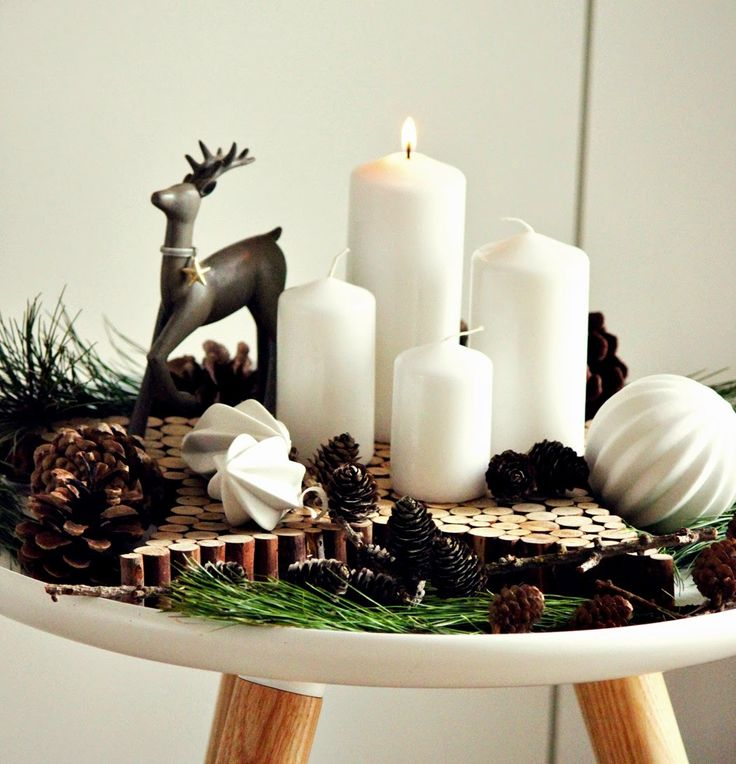 Advent in weiß und braun | Livingdreams