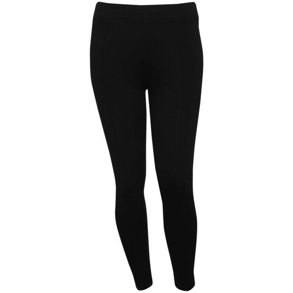 M&Co Plus Luxe Leggings ($30) ❤ liked on Polyvore featuring pants, leggings, black, plus size, thick black leggings, m&co, lined leggings, black leggings and black trousers