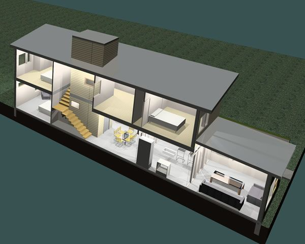 1000 images about contemporary modular prefab homes on for Sip prefab garage