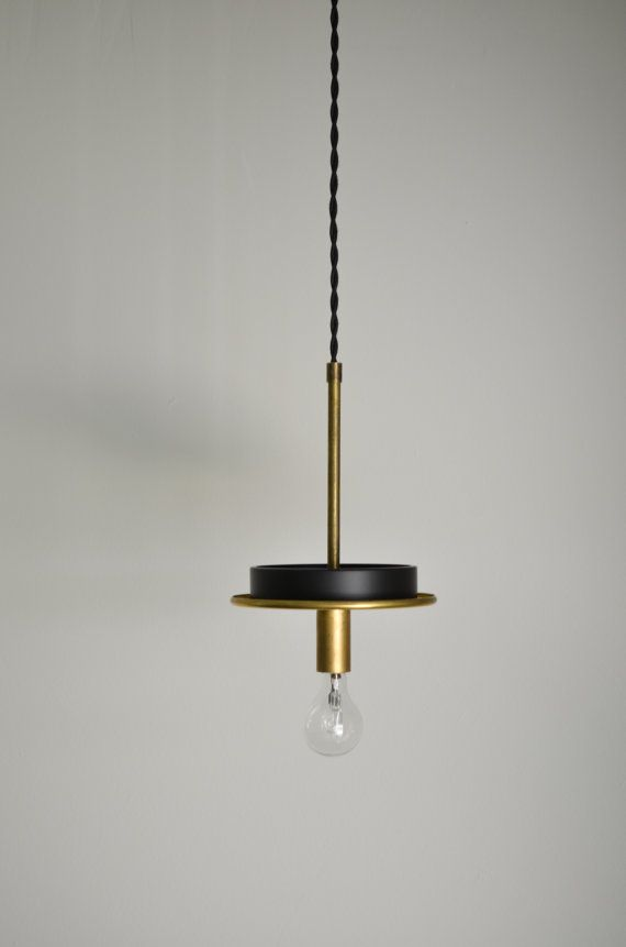 The Gitan No. 5 Solid Brass hanging modern by TripleSevenHome