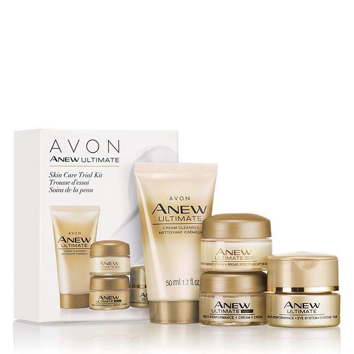 Trial Pack Skincareacne Anew Ultimate Skin Care Avon Skin Care