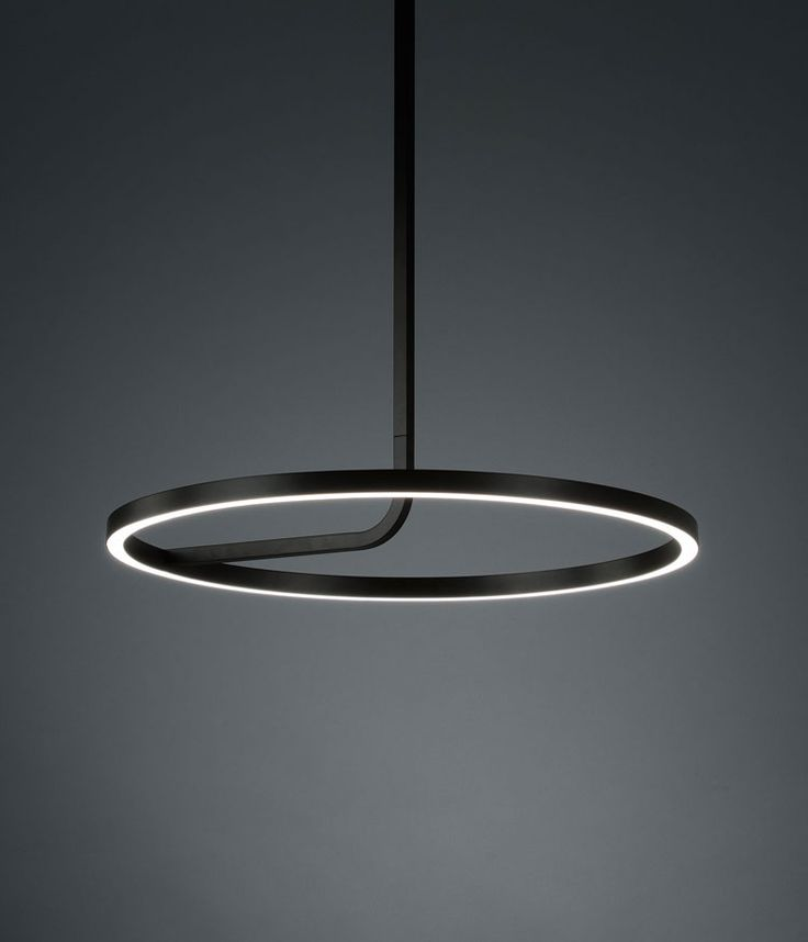 New for Fall Winter 2016 is Boyd Lighting's architectural, LED Hoopla Pendant. Also available in Milk.