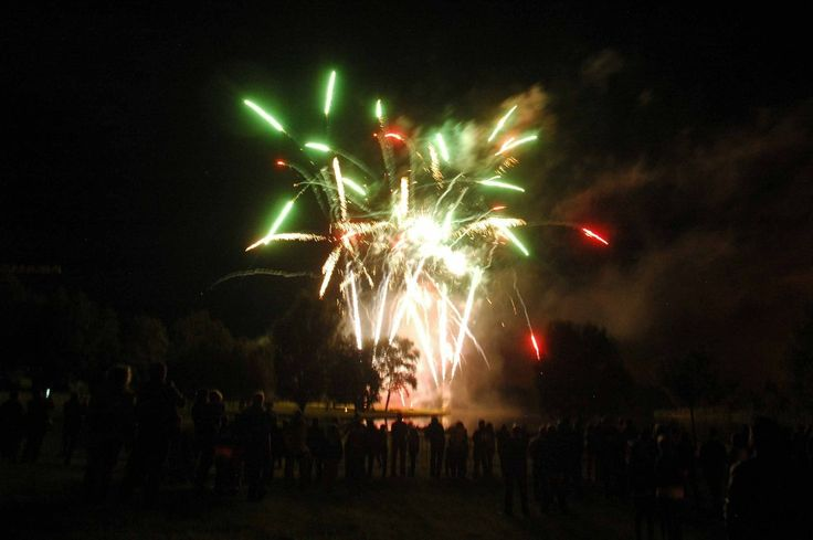 Grand spectacle pyrotechnique le jeudi 13 juillet.