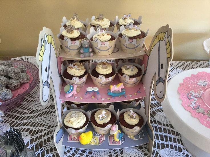 Rocking Horse Cupcake stand