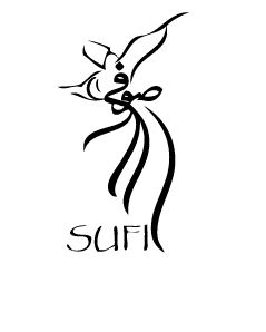 Islamic mysticism. 'Sufi' whirling dervish.