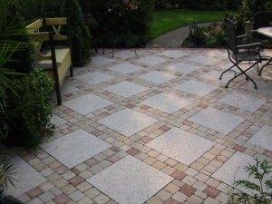 ideaal bestratingspatroon voor een kleine tuin