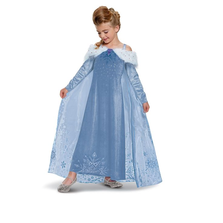 Girlsu0027 Frozen Elsa Adventure Dress Deluxe Costume M(8-10) Multicolored  sc 1 st  Pinterest & 16 best Elsa Costumes images on Pinterest