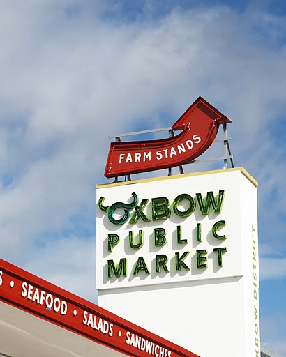 Oxbow Public Market in Napa. 40,000 square feet of artisanal food.