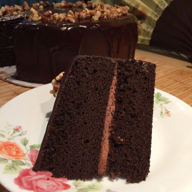 Valrhona cocoa powder cake recipe
