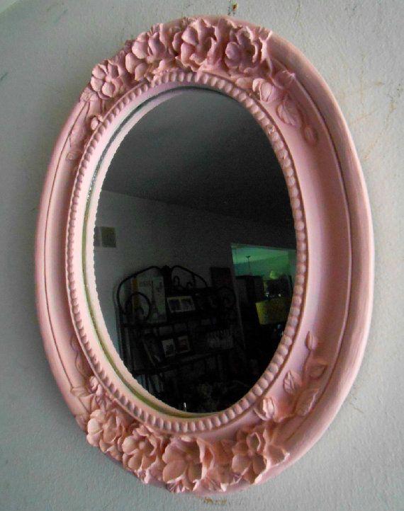 Vintage shabby chic mirror marcos para espejos espejos for Espejos de pared vintage