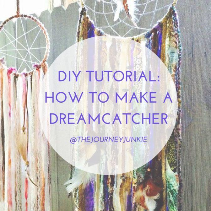 Diy tutorial how to make a dreamcatcher diy tutorial for Dreamcatcher diy tutorial