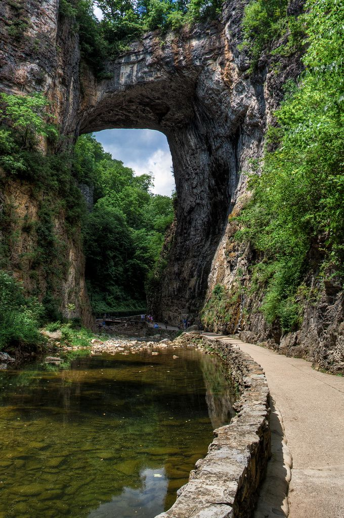 1. Natural Bridge, Rockbridge County. One of the seven natural wonders of the world.