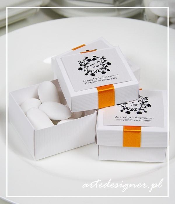 Podziękowania dla gości Vintage / Vintage favor boxes. Product By / www.artedesigner.pl