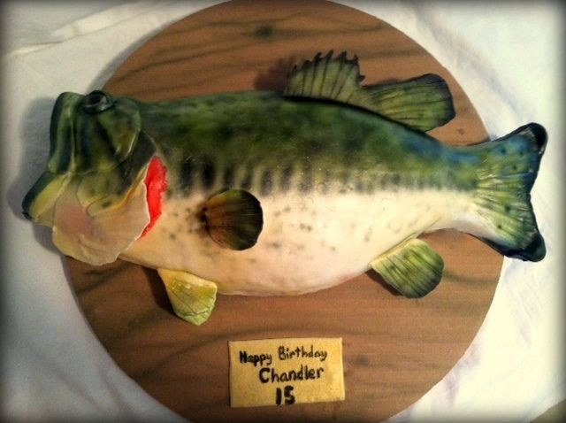 How To Make A Bass Fish Cake 3 D And Tutorials