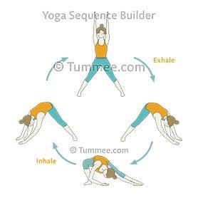 wide legged forward fold pose flow yoga prasarita