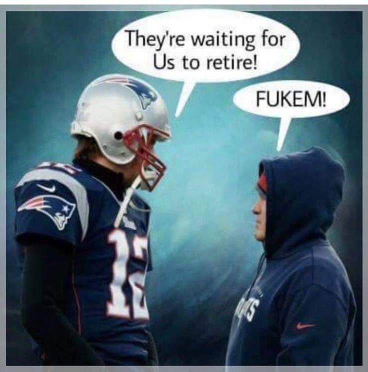 Belichick/Brady forever!