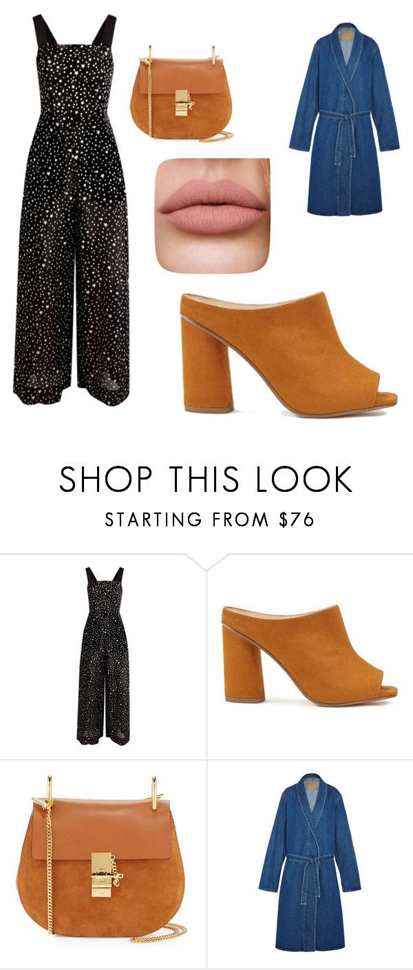 """Untitled #217"" by denysa-boldog on Polyvore featuring Diane Von Furstenberg, Miss Selfridge, Chloé and Balenciaga"