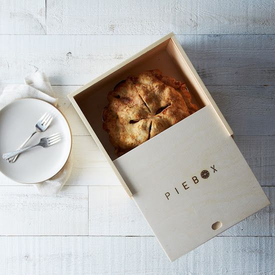 Unfortunately, pie insurance doesn't exist yet. (Someday...) Enter the PieBox (the next best thing): a handcrafted, reusable raw pine box de...