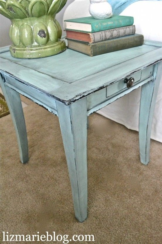 Chalk Painted Furniture - 2 Videos on how..
