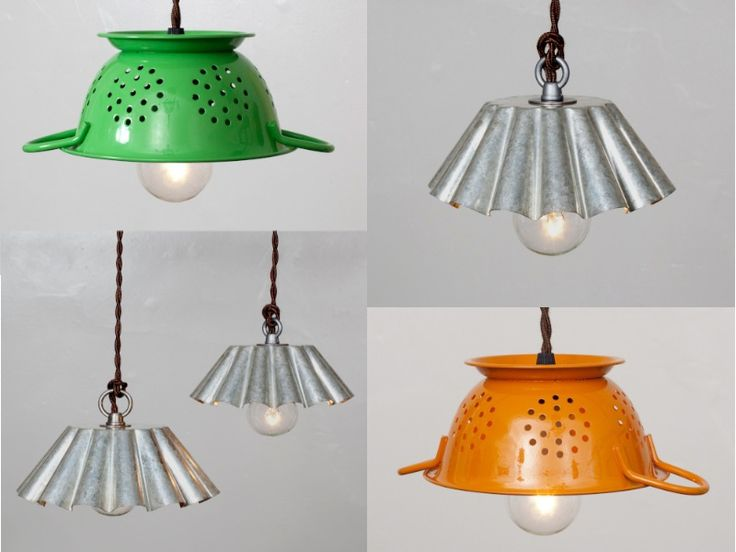 I love the idea of giving some 'old' things into great new lamps!