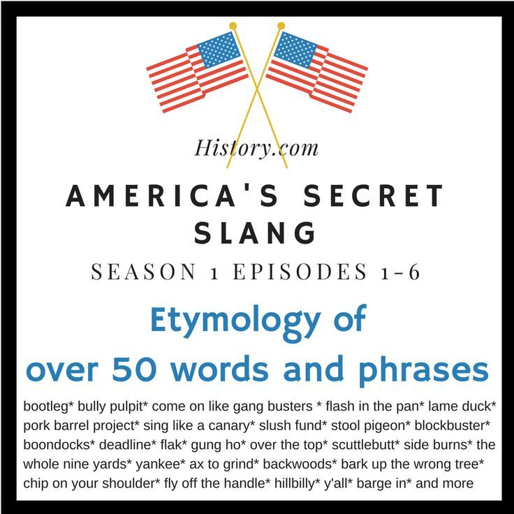 You will receive 6 editable matching quizzes to use with the History.com documentary series: America�s Secret Slang.  Teachers can use this resource without viewing the documentary but it is designed to correspond with the series. There is one quiz per ep