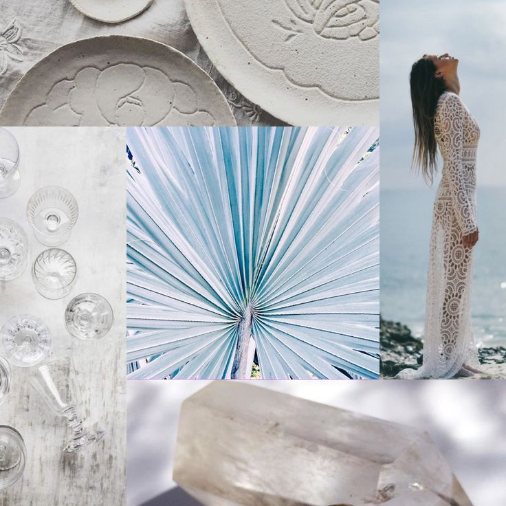 Inspiration from exotic & tropical elements for events, weddings and parties.   #exotic #tropical #events #white #travel #wanderlust #moodboard My EVENTful Adventures