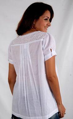 modelo de blusa de cambraia - Pesquisa Google
