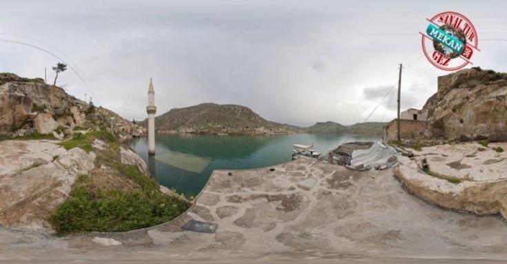 """""""BATIK ŞEHİR"""" İşte Baraj Suyu Altında Kalan Bir Şehir.. Sanal Tur ile 360 Derece Gez! Mekan360 ile heryerden, gezdiğin yeri 360° hisset"""