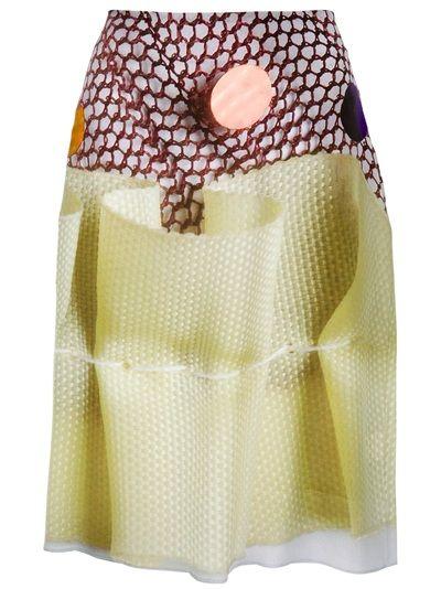 ANTONI and ALISON Printed Skirt
