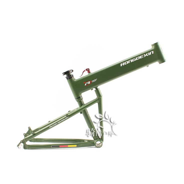 151.30$  Buy here - http://ai0ws.worlditems.win/all/product.php?id=32808211691 - BMX folding frame 26/27.5/29 inch folding mountain bike frame portable Hummer folding frame