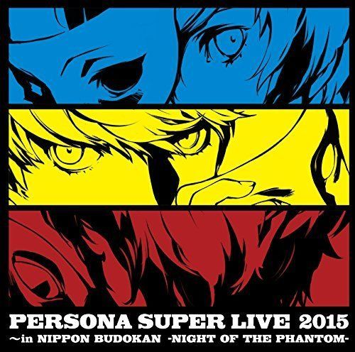 PERSONA SUPER LIVE 2015 in Nippon Budokan NIGHT OF THE PHANTOM Game Music CD