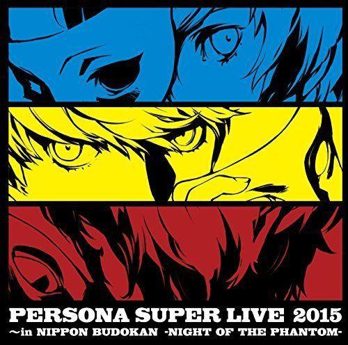 PERSONA SUPER LIVE 2015 in Nippon Budokan NIGHT OF THE PHANTOM Game Music CD