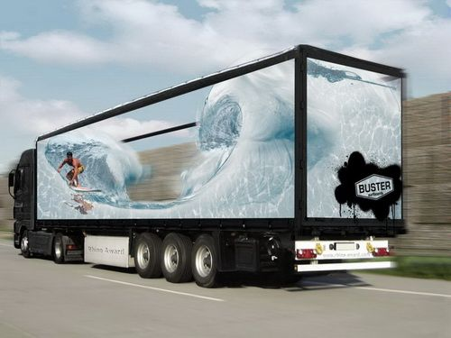 Truck Side Advertising Mobile Billboards Outdoor