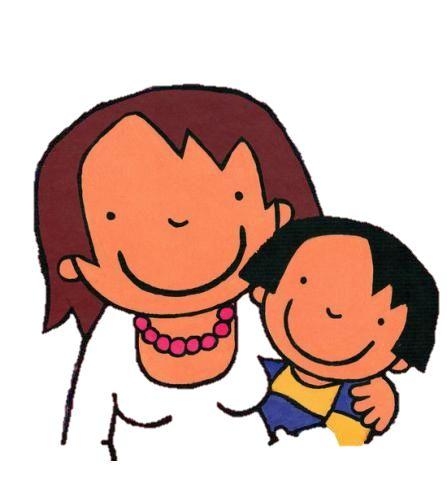 anna en haar mama