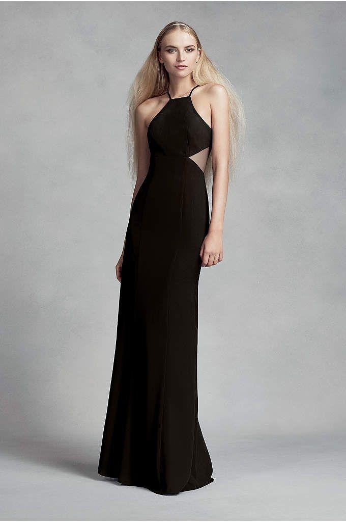4fccb7c753 Soft   Flowy White by Vera Wang Long Bridesmaid Dress