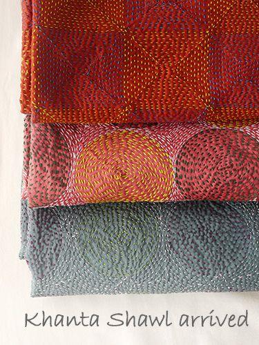 Stitching, colours