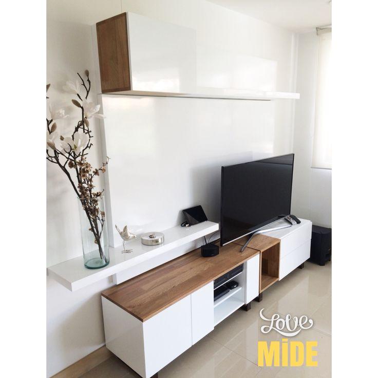 Mueble TV - Roble-poliuretano