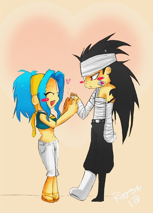 gajeel x levy family - photo #42